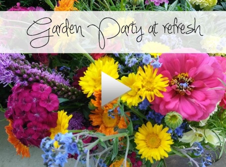 Garden party video image
