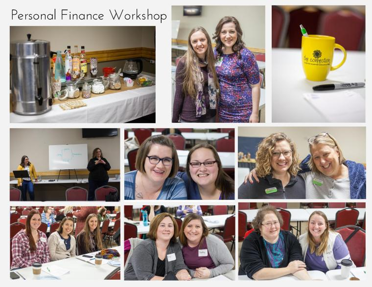 Finance workshop collage
