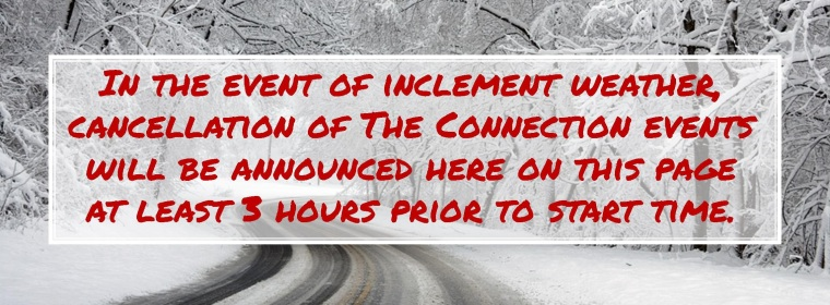 Inclement weather image for website