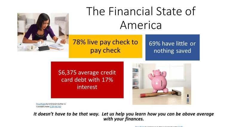 The Financial State of America