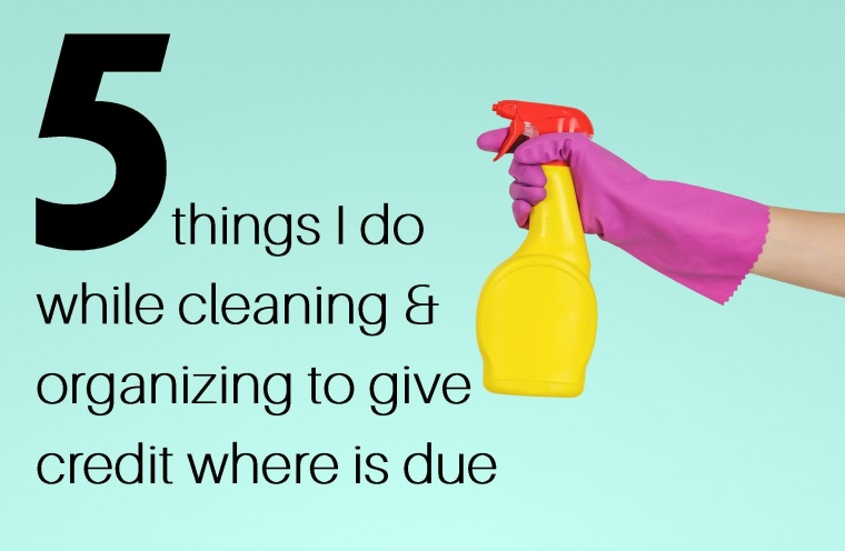 5 things cleaning - Lindsey